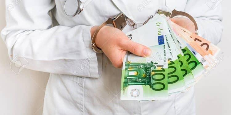 salaire d'un médecin débutant